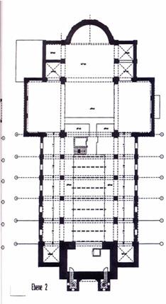 Ebene 2 Umbauplan Kirche