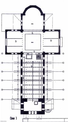 Ebene 3 Umbauplan Kirche